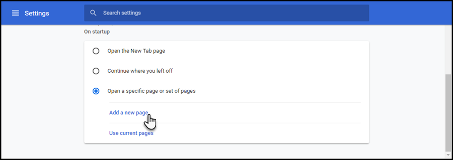 Webclient Configuration Chrome StartPage.png