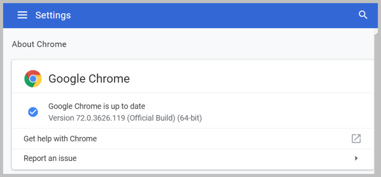 WebClient ChromeTroubleshooting ChromeVersion Settings.png